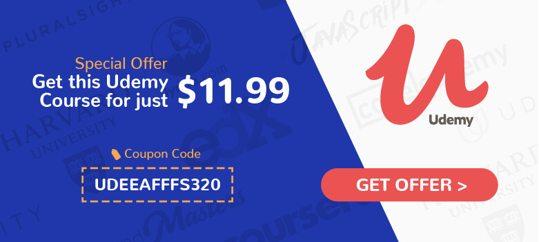 udemy coupon banner