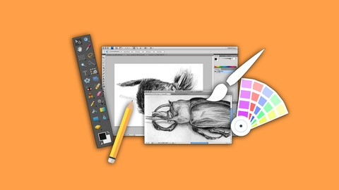 Learn Designing Using Adobe Photoshop from Scratch